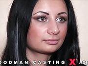 CASTING Russian Lola Striker Huge Natural Tits Assfucking
