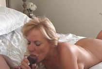 blonde milf loves black cock