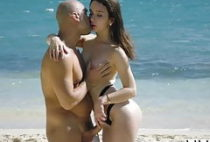 VIXEN Model Has Incredible Passionate Sex On The Beach
